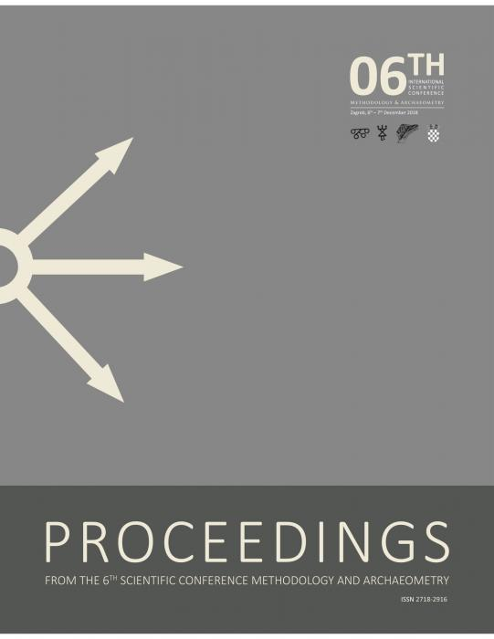 Korice Proceedings from the 6th Scientific Conference Methodology and Archaeometry