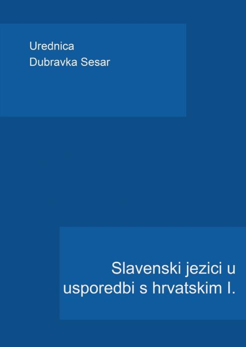 Korice Slavenski jezici u usporedbi s hrvatskim I.