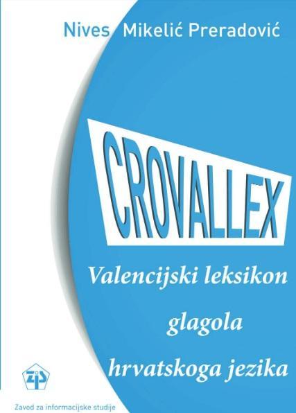 Korice CROVALLEX: valencijski leksikon glagola hrvatskoga jezika