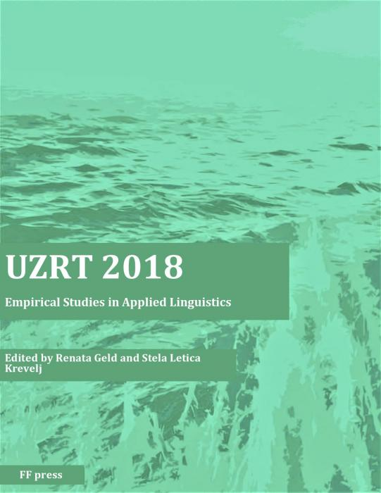 Korice UZRT 2018: Empirical studies in applied linguistics
