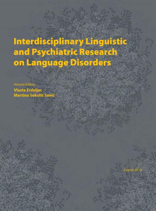 Korice Interdisciplinary Linguistic and Psychiatric Research on Language Disorders